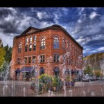 The Wheeler Opera House, Aspen, Colorado.